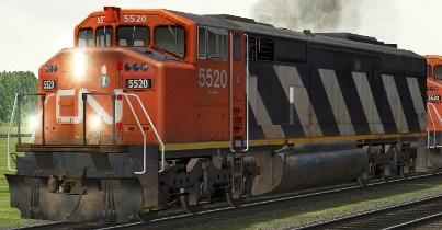 CN SD60F #5520
