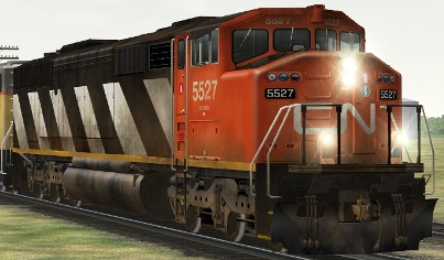 CN SD60F #5527