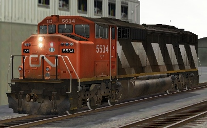 CN SD60F #5534