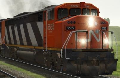 CN SD60F #5535
