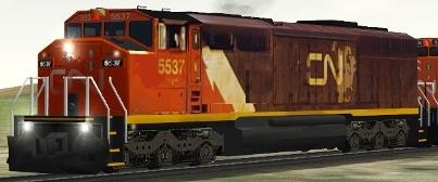 CN SD60F #5537