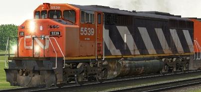 CN SD60F #5539