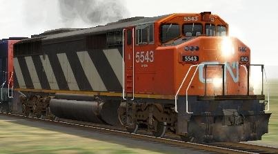 CN SD60F #5543