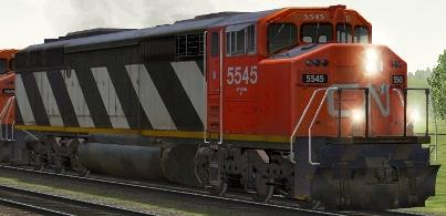 CN SD60F #5545