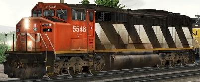 CN SD60F #5548