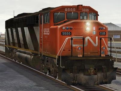 CN SD60F #5555