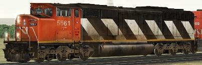 CN SD60F #5561