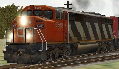 CN SD60F #5562