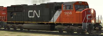 CN SD75i #5656