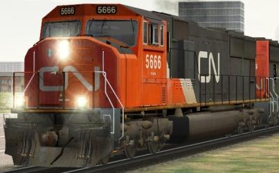 CN SD75i #5666