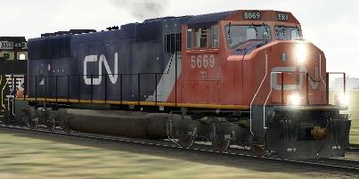 CN SD75i #5669