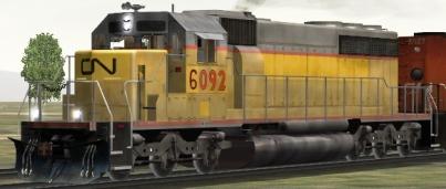 CN SD40-2 #6092