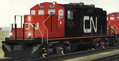 CN GP9rm #7026