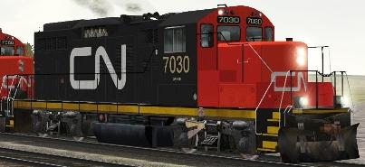 CN GP9rm #7030