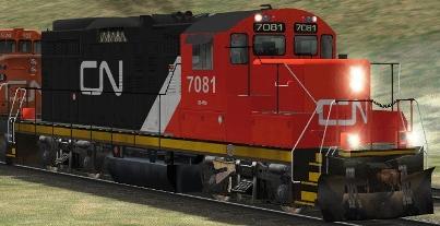 CN GP9rm #7081