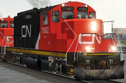 CN GP9rm #7082