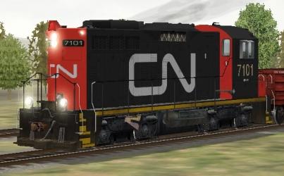 CN SW1200RM #7101
