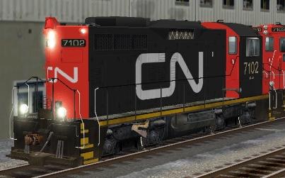 CN SW1200RM #7102