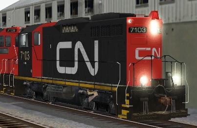 CN SW1200RM #7103