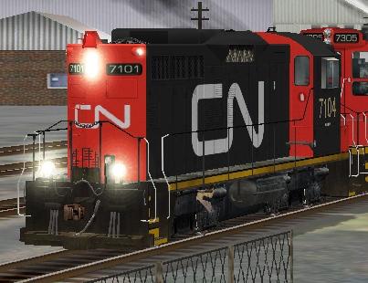 CN SW1200RM #7104