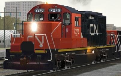 CN GP9rm #7276