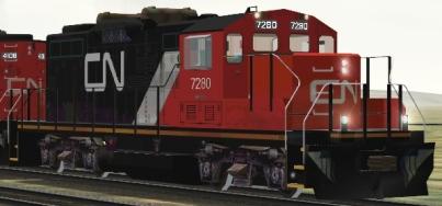 CN GP9rm #7280