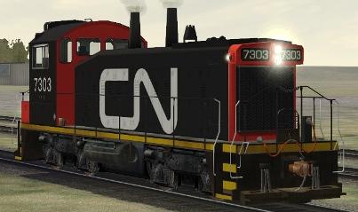 CN SW1200RM #7303