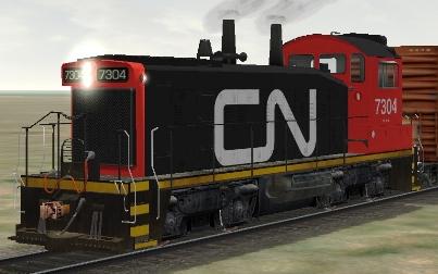 CN SW1200RM #7304