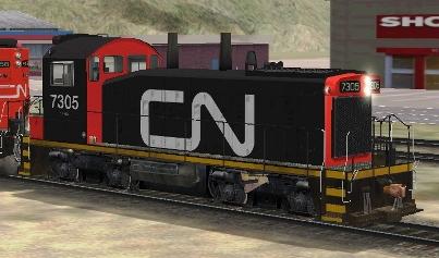 CN SW1200RM #7305