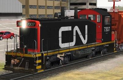 CN SW1200RM #7307