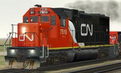 CN GP38-2 #7510
