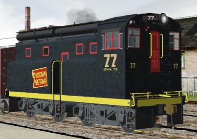 CN Diesel #77