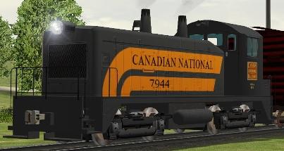 CN NW2 #7944