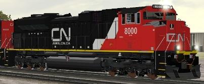 CN SD70M-2 #8000 (CN_8000_SD70M-2.zip shown)