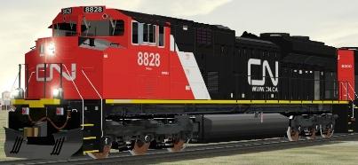 CN SD70M-2 #8828