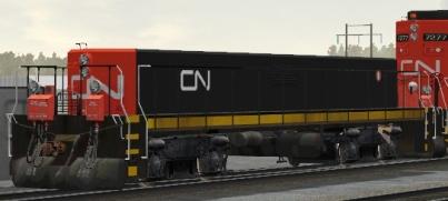 CN GP9 Slug NO# (211-281 Series)