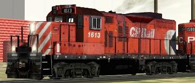 CP GP9u #1613