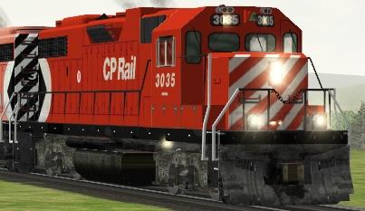CP GP38-2 #3035