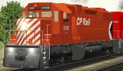 CP GP38-2 #3105