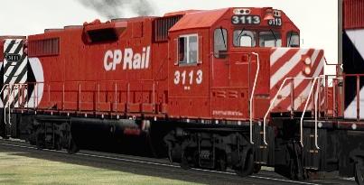 CP GP38-2 #3113
