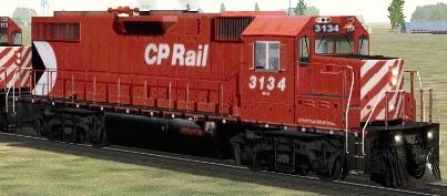 CP GP38-2 #3134