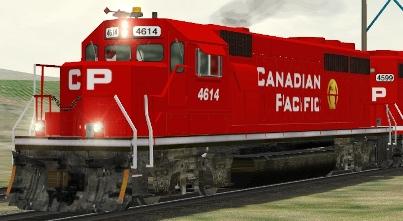CP/SOO GP40 #4614