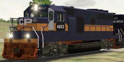 CP/SOO GP40-2 #4652