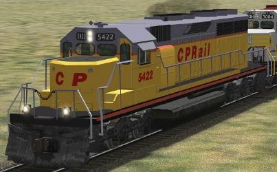 CP SD40-2 #5422