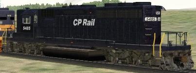 CP SD40-2(B) #5485