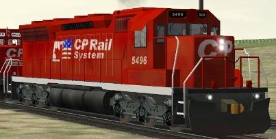 CP SD40M-2 #5496
