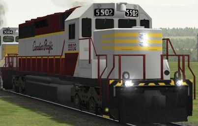 CP SD40 #5502