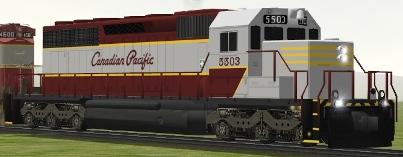 CP SD40 #5503