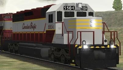 CP SD40 #5504