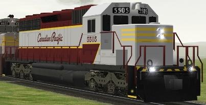 CP SD40 #5505 (cp5505.zip shown)